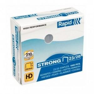 Capse 23/20 RAPID Strong, 1000 buc/cutie