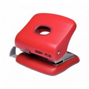 Perforator plastic rosu, 20 coli, RAPID FC20 - ACOMI.ro