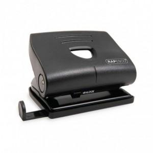 Perforator RAPESCO 820-P negru, 2 perforatii, max. 22 coli - ACOMI.ro