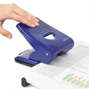 Perforator RAPESCO 835 albastru, 2 perforatii, max. 40 coli - ACOMI.ro