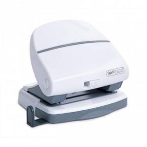 Perforator RAPESCO P30 Shimma alb, 2 perforatii, max. 30 coli - ACOMI.ro