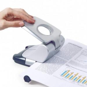 Perforator RAPESCO Zero-30 argintiu, 2 perforatii, max. 30 coli - ACOMI.ro