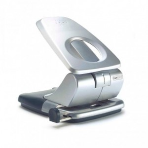 Perforator RAPESCO Zero-40 argintiu, 2 perforatii, max. 40 coli - ACOMI.ro