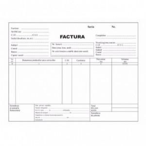 Facturier A5 3 ex. fara TVA - ACOMI.ro