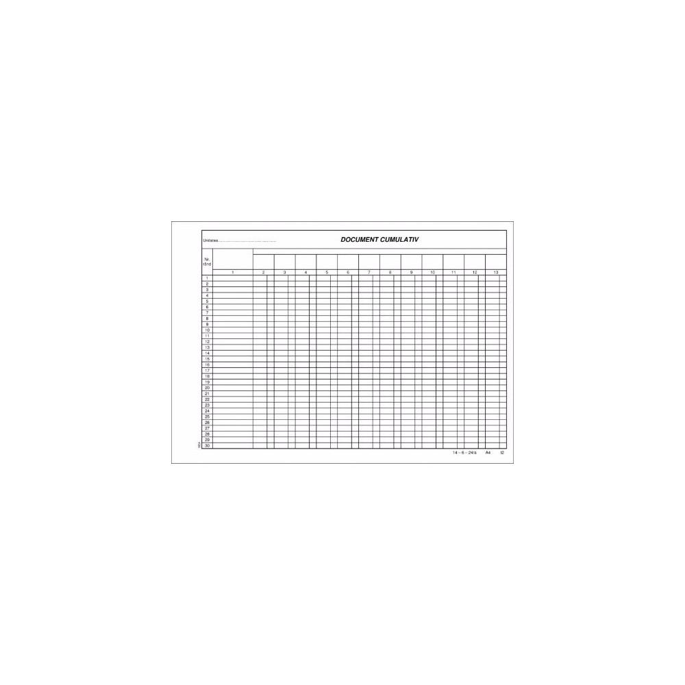Document cumulativ orizontal - ACOMI.ro