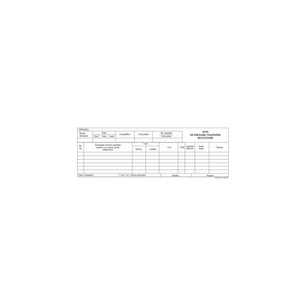 BON PREDARE TRANSFER A5 FV - ACOMI.ro