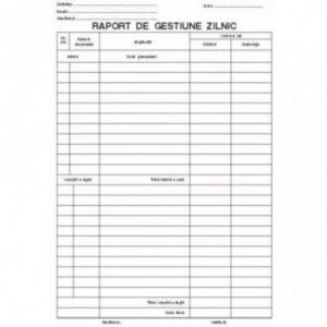 RAPORT GESTIUNE ZILNIC AUTOCOPIATIV - ACOMI.ro