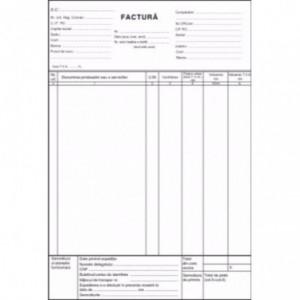 FACTURIER A4 3 EX. CU PERFOR - ACOMI.ro