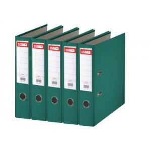 Biblioraft plastifiat de 7.5 cm, verde, A4, ARMA - ACOMI.ro