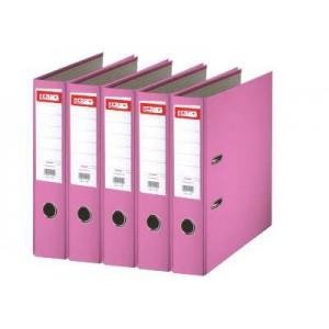 Biblioraft plastifiat de 7.5 cm, roz, A4, ARMA - ACOMI.ro