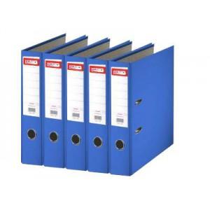 Biblioraft plastifiat de 7.5 cm, albastru, A4, ARMA - ACOMI.ro
