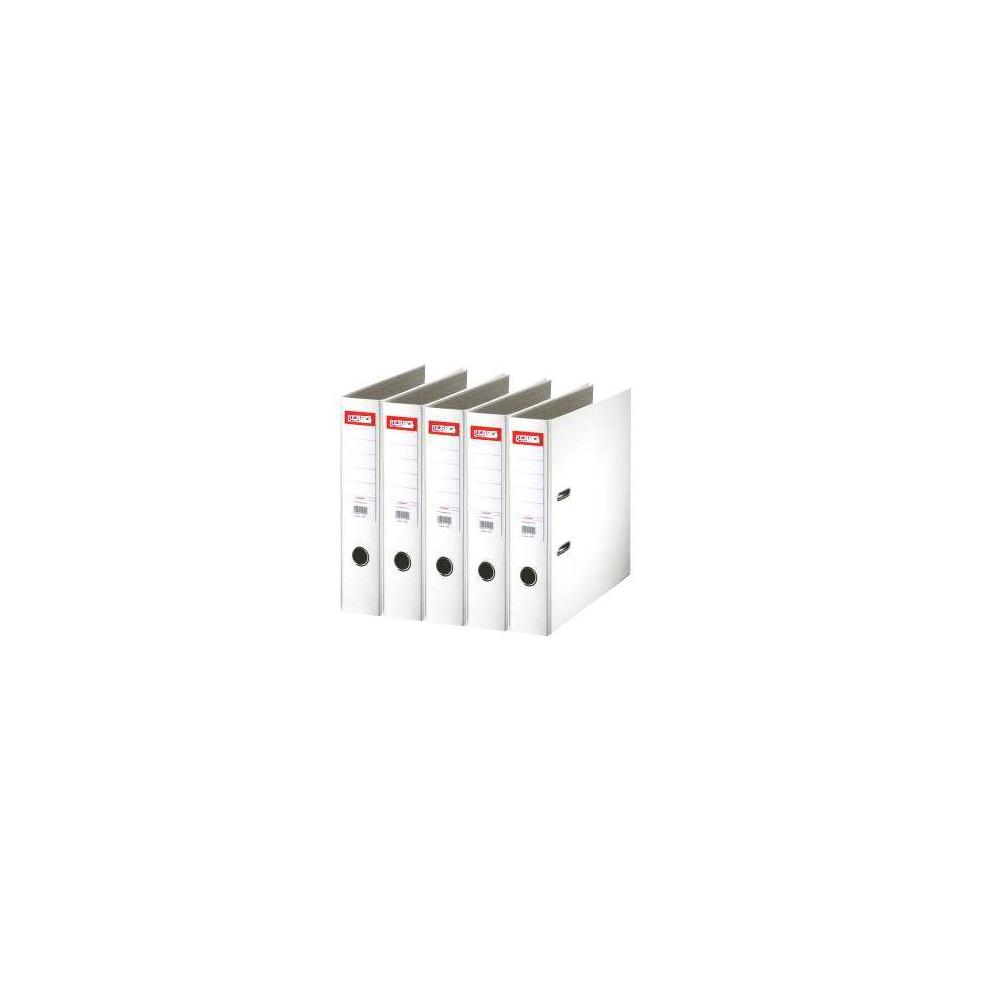 Biblioraft plastifiat de 7.5 cm, alb, A4, ARMA - ACOMI.ro
