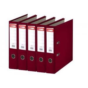 Biblioraft plastifiat de 5.0 cm, visiniu, A4, ARMA - ACOMI.ro