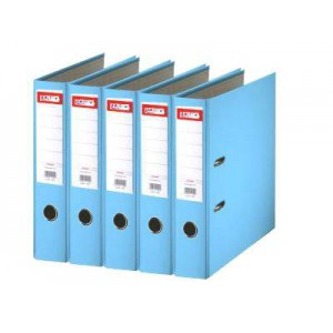 Biblioraft plastifiat de 5.0 cm, bleu, A4, ARMA - ACOMI.ro