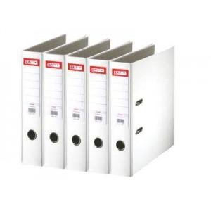 Biblioraft plastifiat de 5.0 cm, alb, A4, ARMA - ACOMI.ro