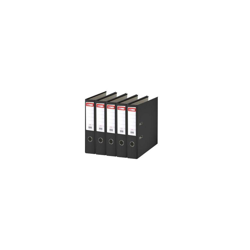 Biblioraft plastifiat de 5.0 cm, negru, A4, ARMA - ACOMI.ro